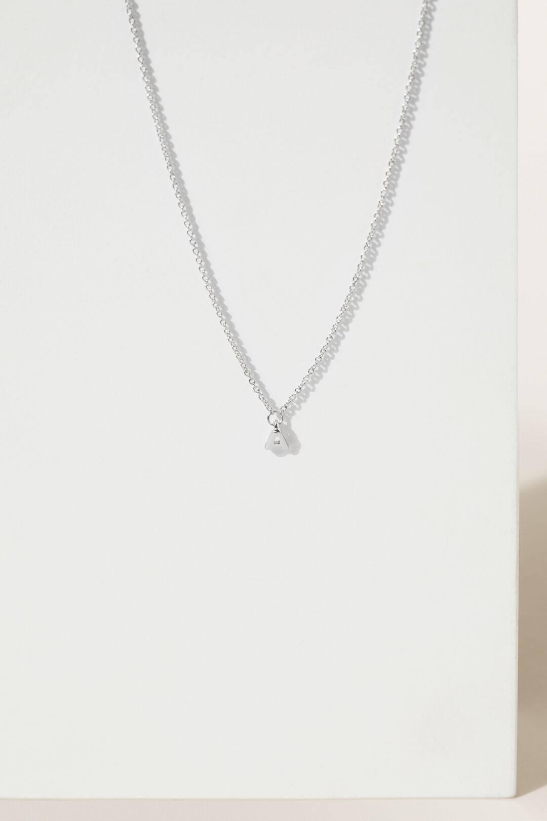 Initial Necklace  A  hi-res