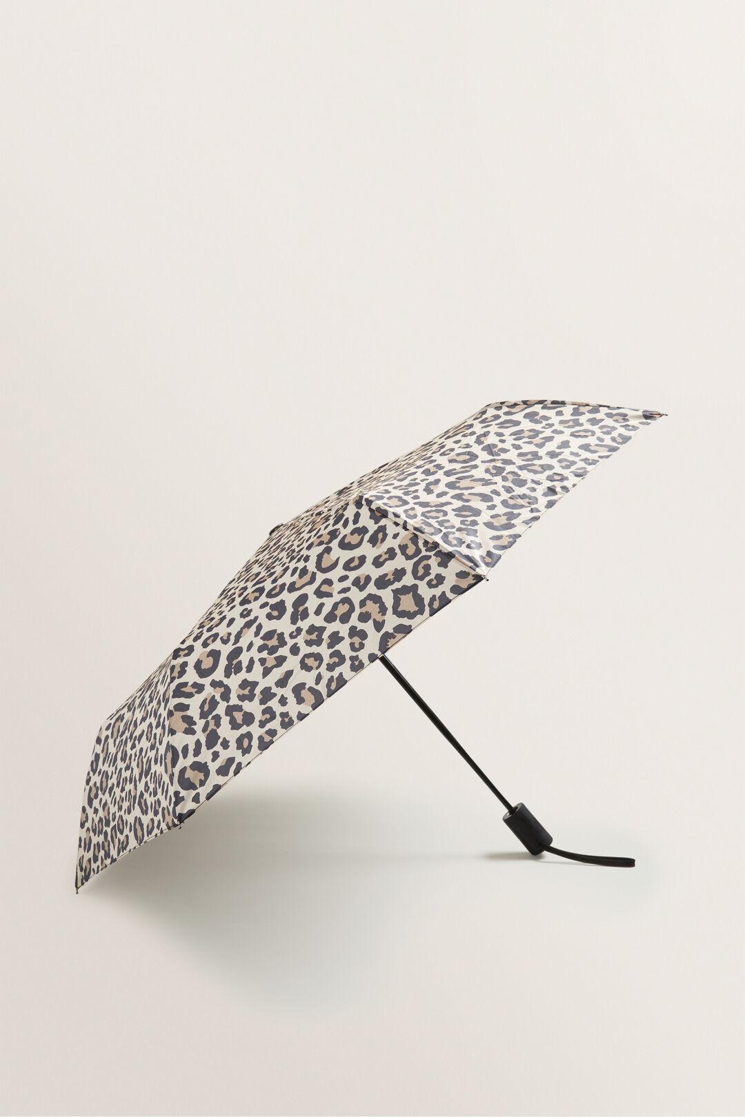 Compact Umbrella  SOUFFLE OCELOT  hi-res