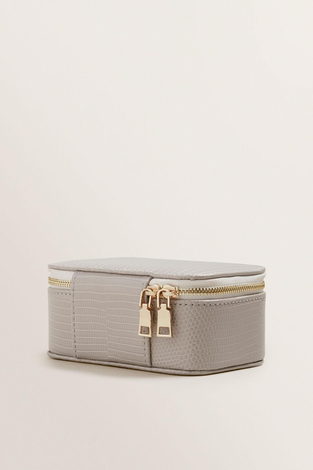 Mini Jewellery Case  GREY  hi-res