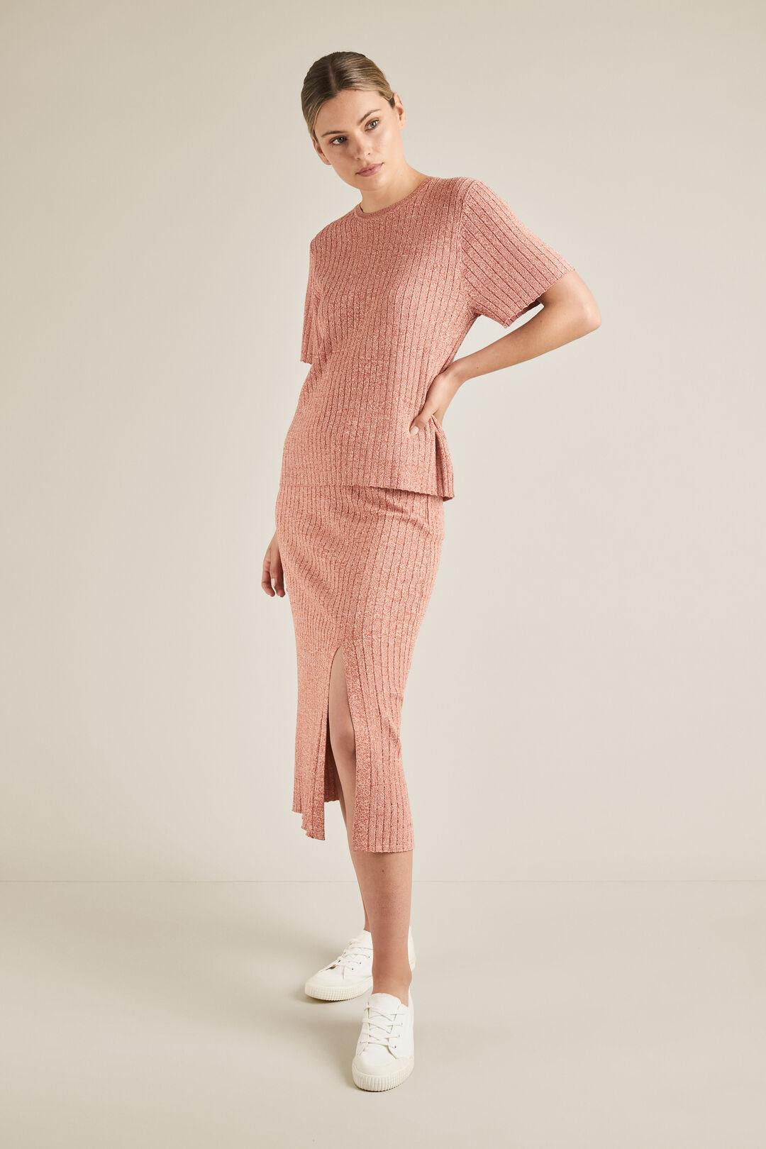 Space Dye Knit Skirt  SPACE DYE  hi-res