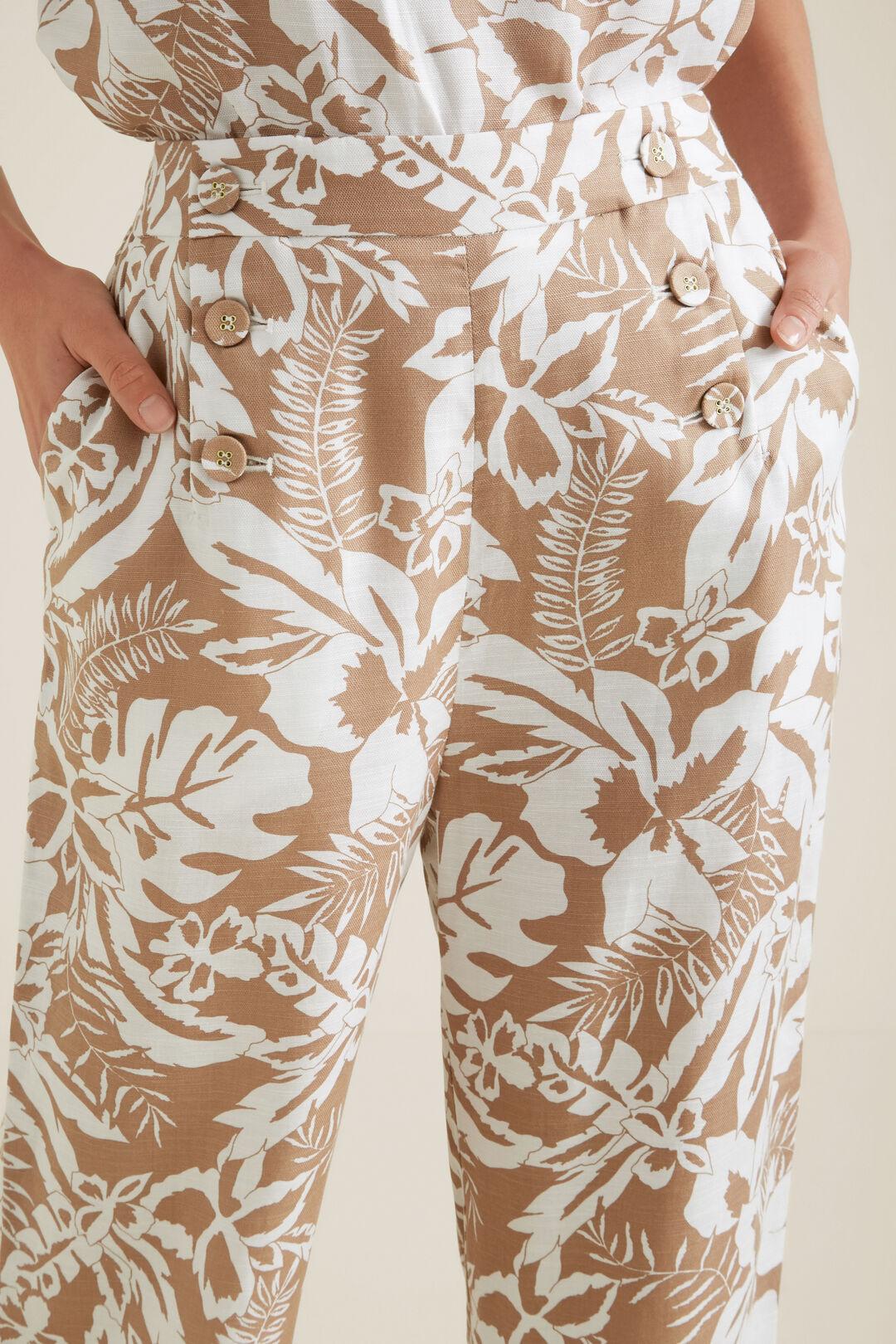 Palm Print Pant  PALM PRINT  hi-res