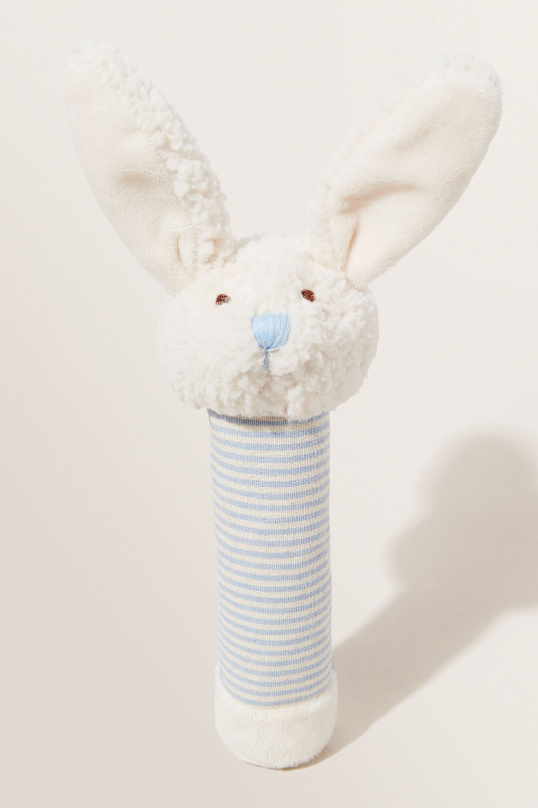 Bella Bunny Rattle  BLUE  hi-res