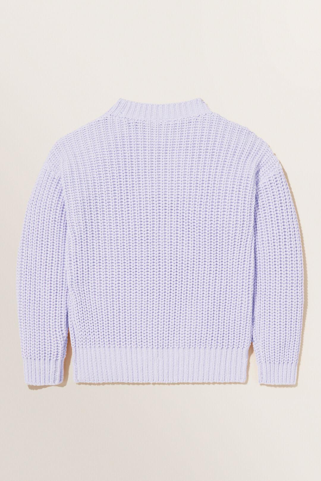 Chunky Knit  VIOLET  hi-res