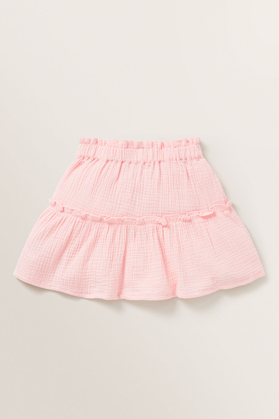 Cheesecloth Skirt  DUSTY ROSE  hi-res