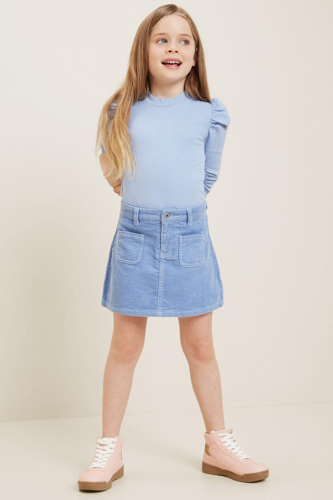 Corduroy Skirt  BLUEBELL  hi-res