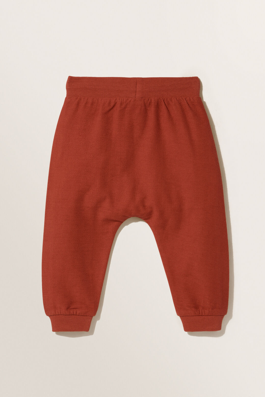 Reverse Terry Trackpant  RUST RED  hi-res