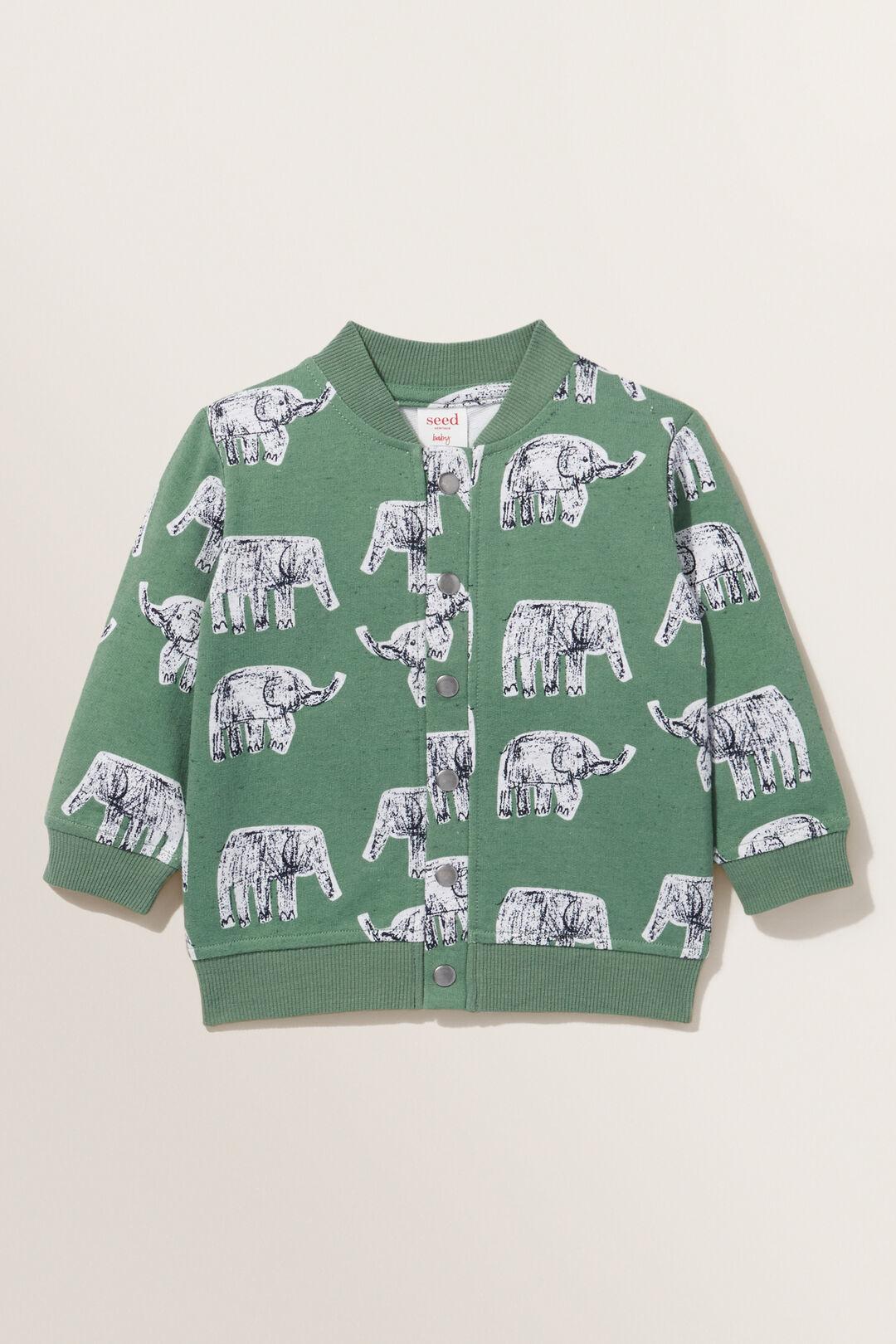 Elephant Windcheater  HUNTER GREEN  hi-res