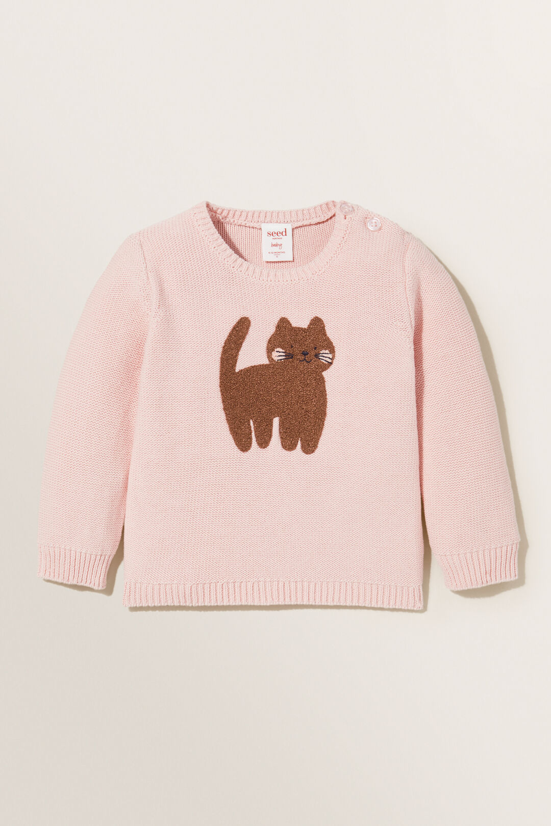 Kitty Knit Sweater  DUSTY ROSE  hi-res