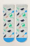 Dinosaur Print Socks  MULTI  hi-res