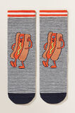 Hot Dog Socks  NAVY  hi-res