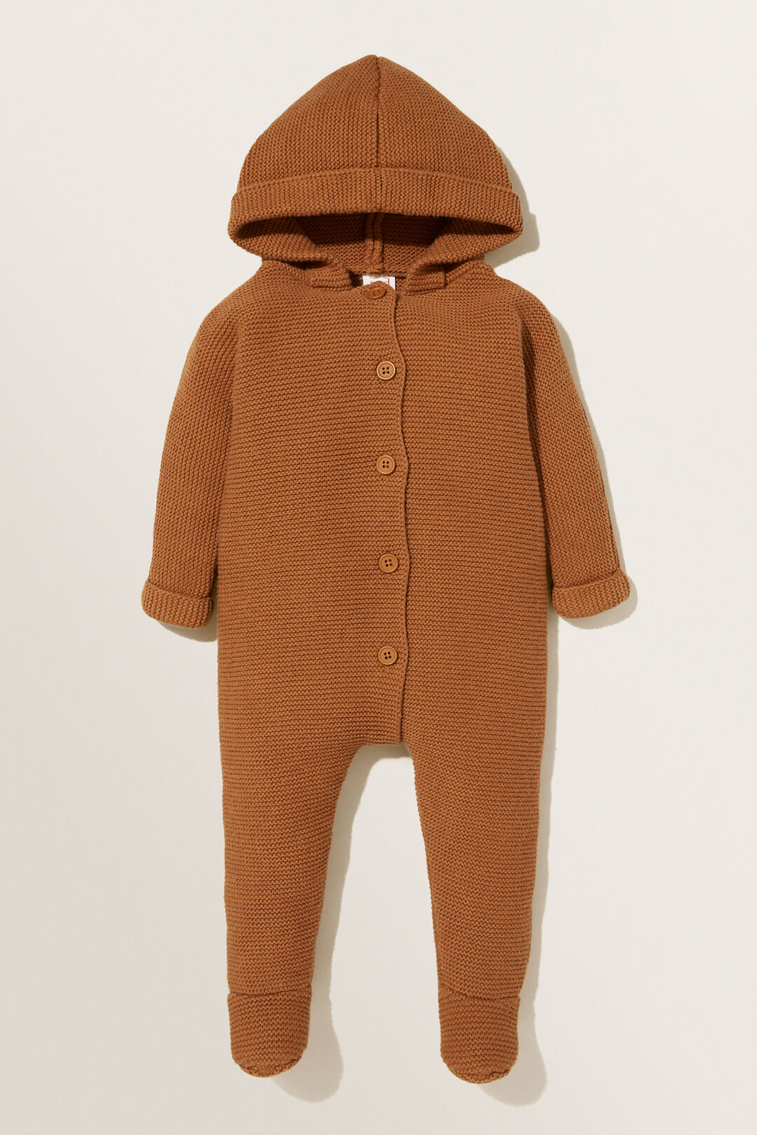 Knitted Hoodie Overall  CLOVE  hi-res