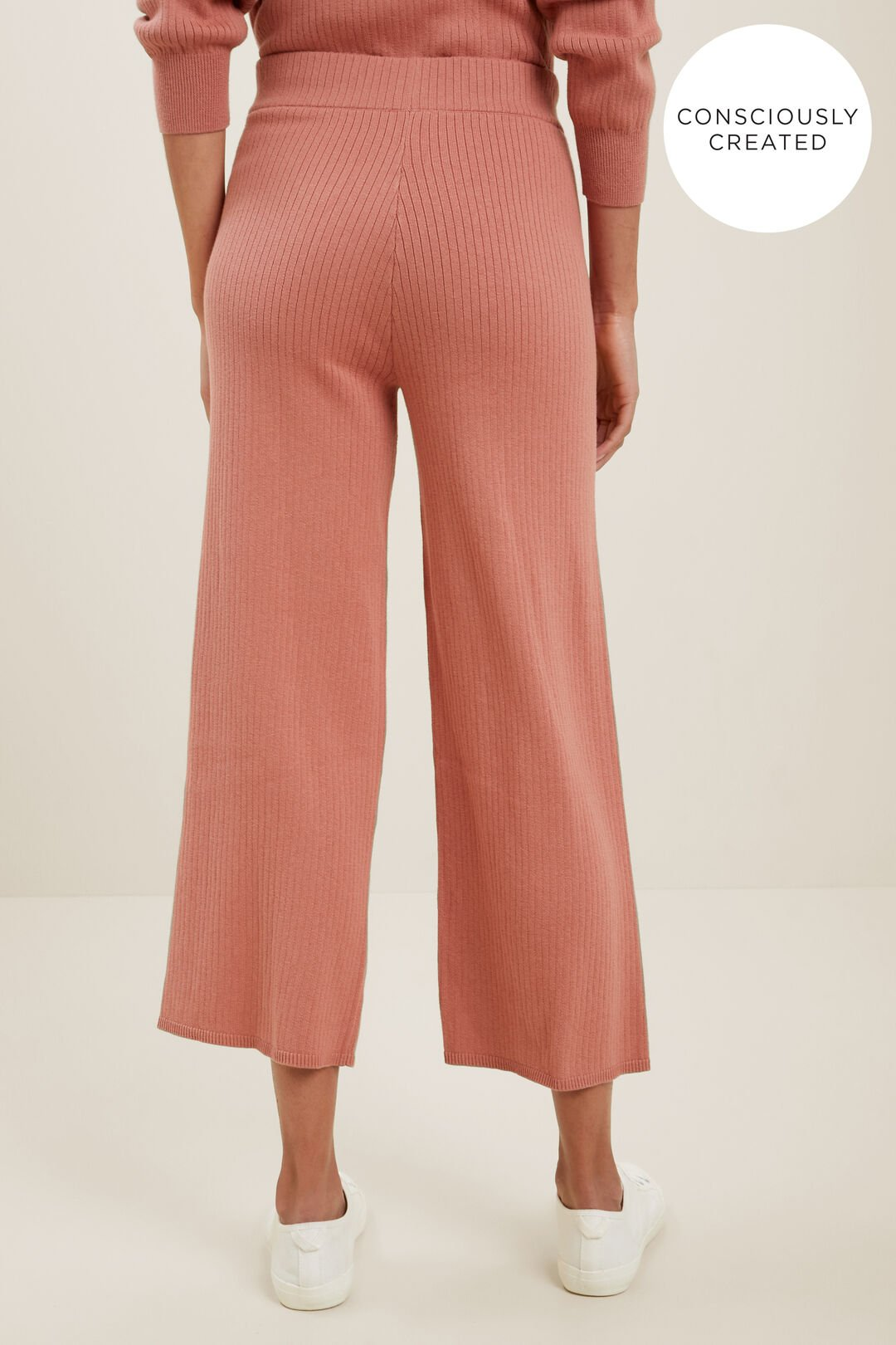 Sustainable Knit Pant  OLD ROSE  hi-res