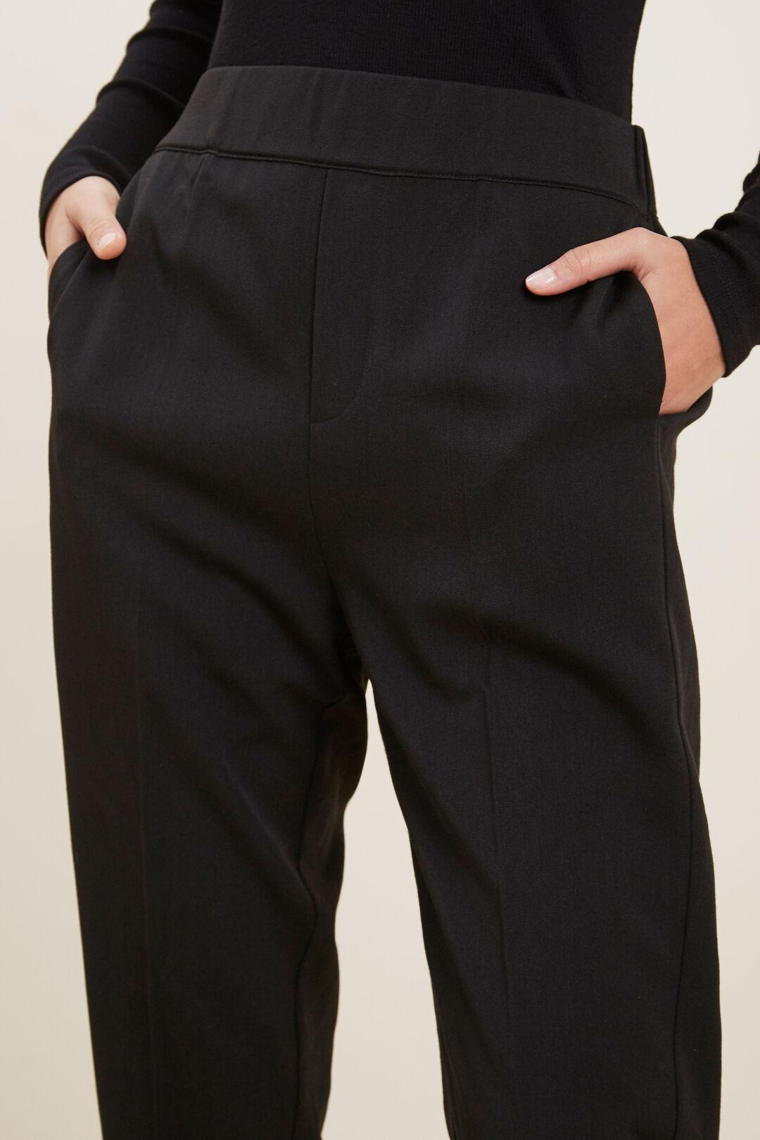 Pull On Pant  BLACK  hi-res