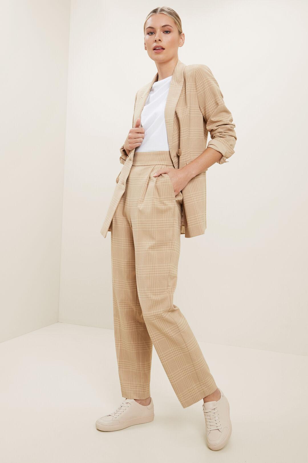 Plaid Suit Blazer  PLAID  hi-res