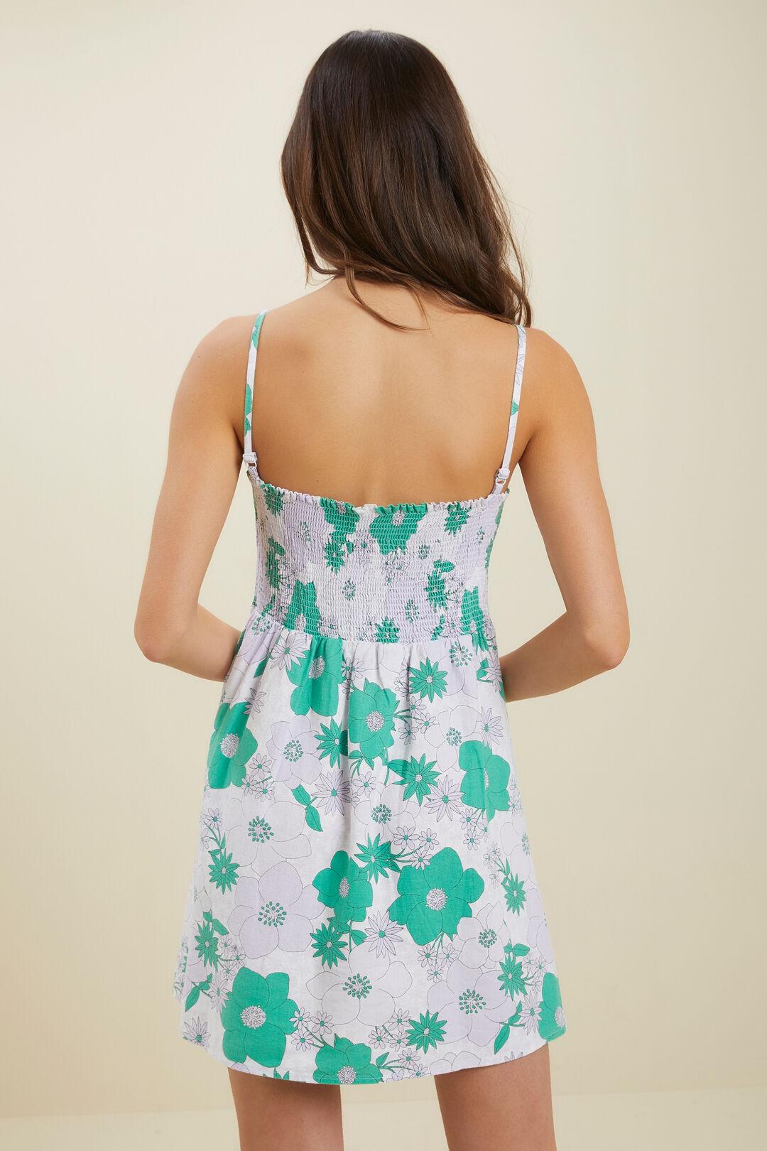 Floral Dress  VIOLET  hi-res