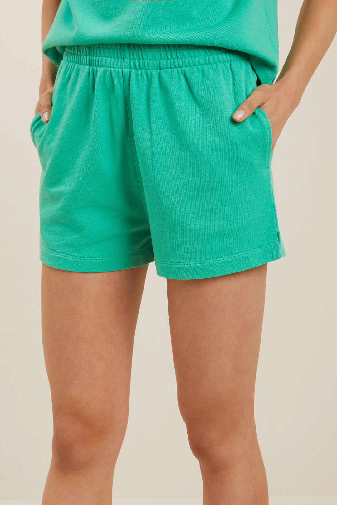 Sweat Shorts  APPLE GREEN  hi-res