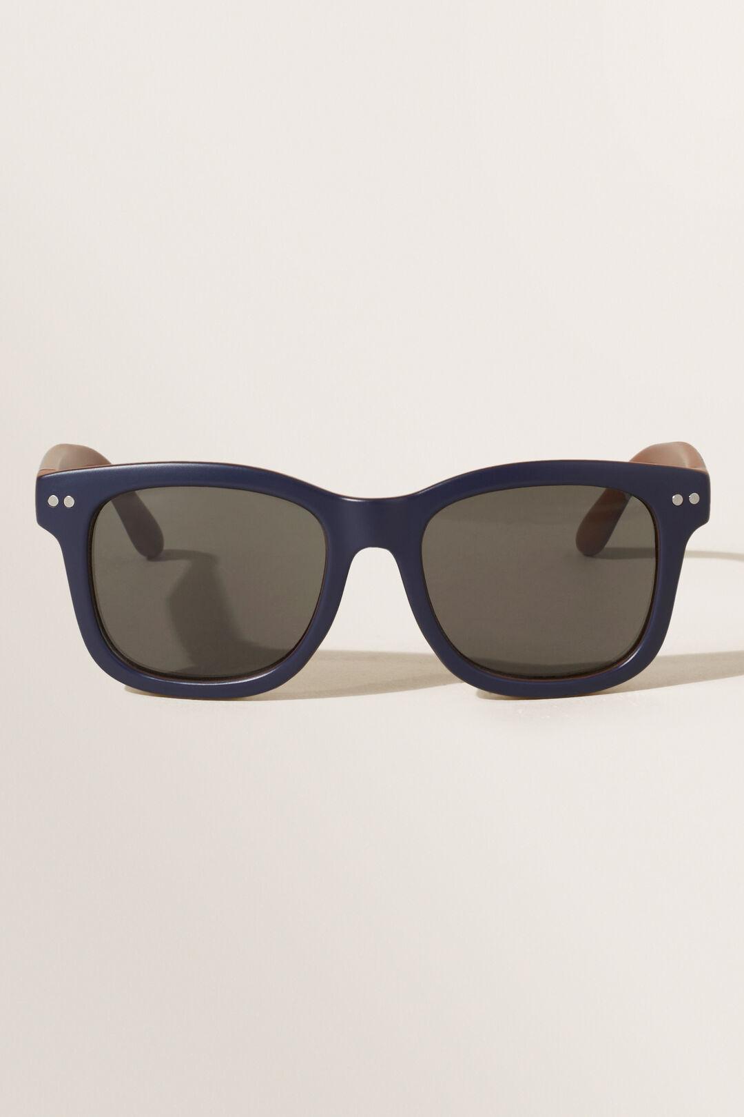 Navy Waymax Sunglasses  NAVY  hi-res