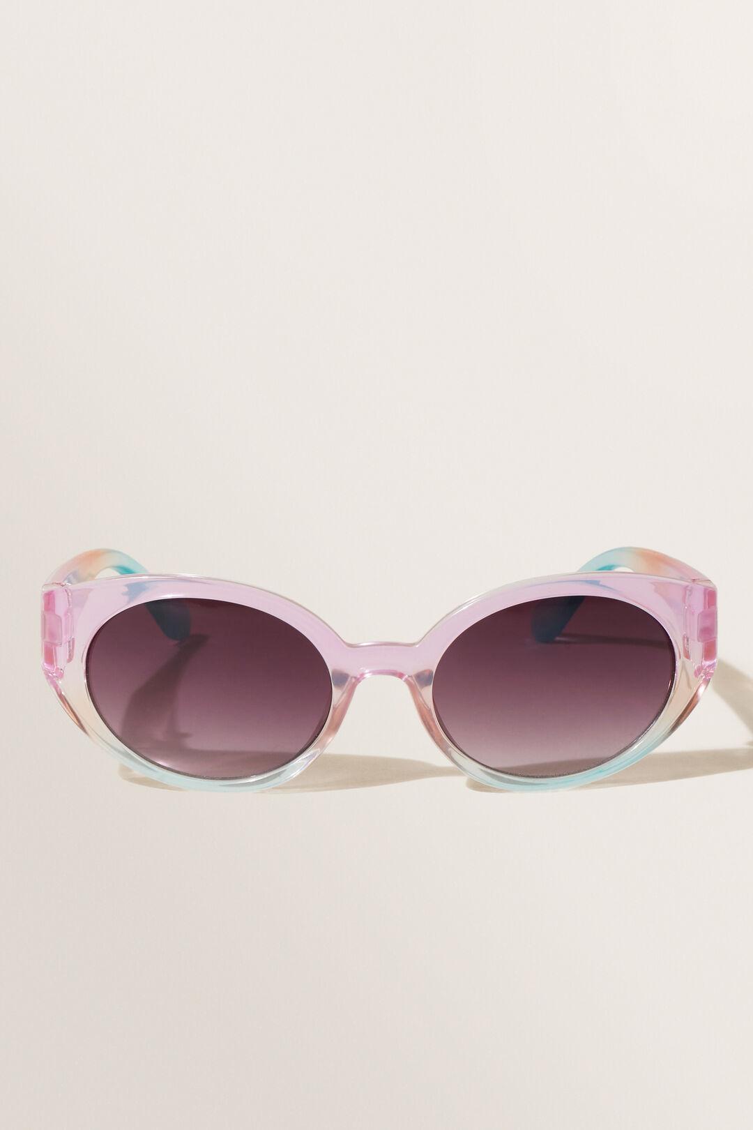 Ombre Oval Sunglasses  MULTI  hi-res