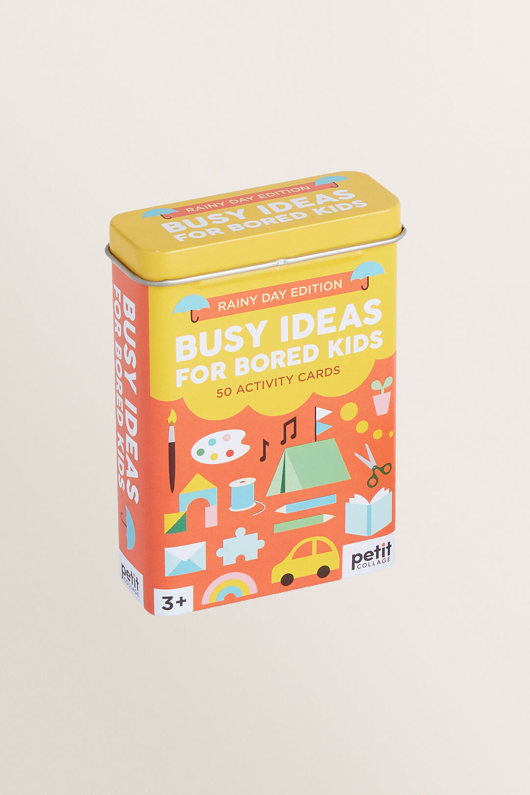 Busy Ideas For Bored Kids – Rainy Day Edition  ORANGE  hi-res