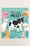 Who Said Moo? Book  MULTI  hi-res