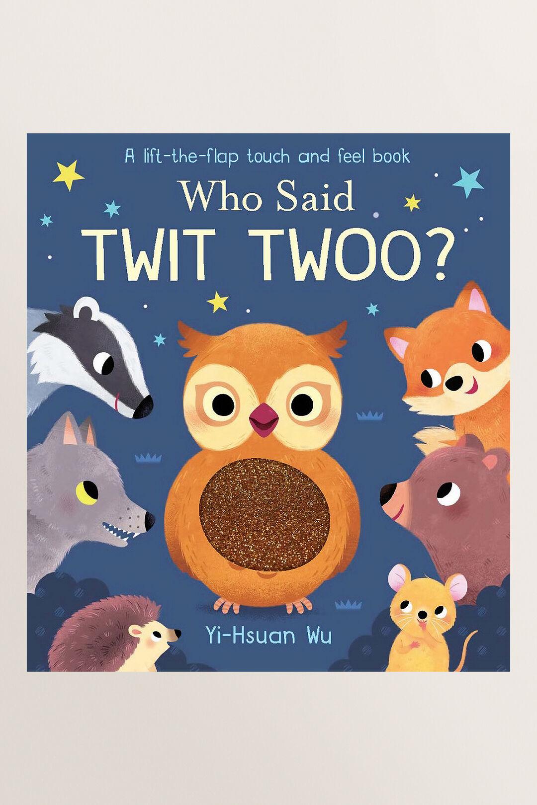 Who Said Twit Twoo Book  MULTI  hi-res
