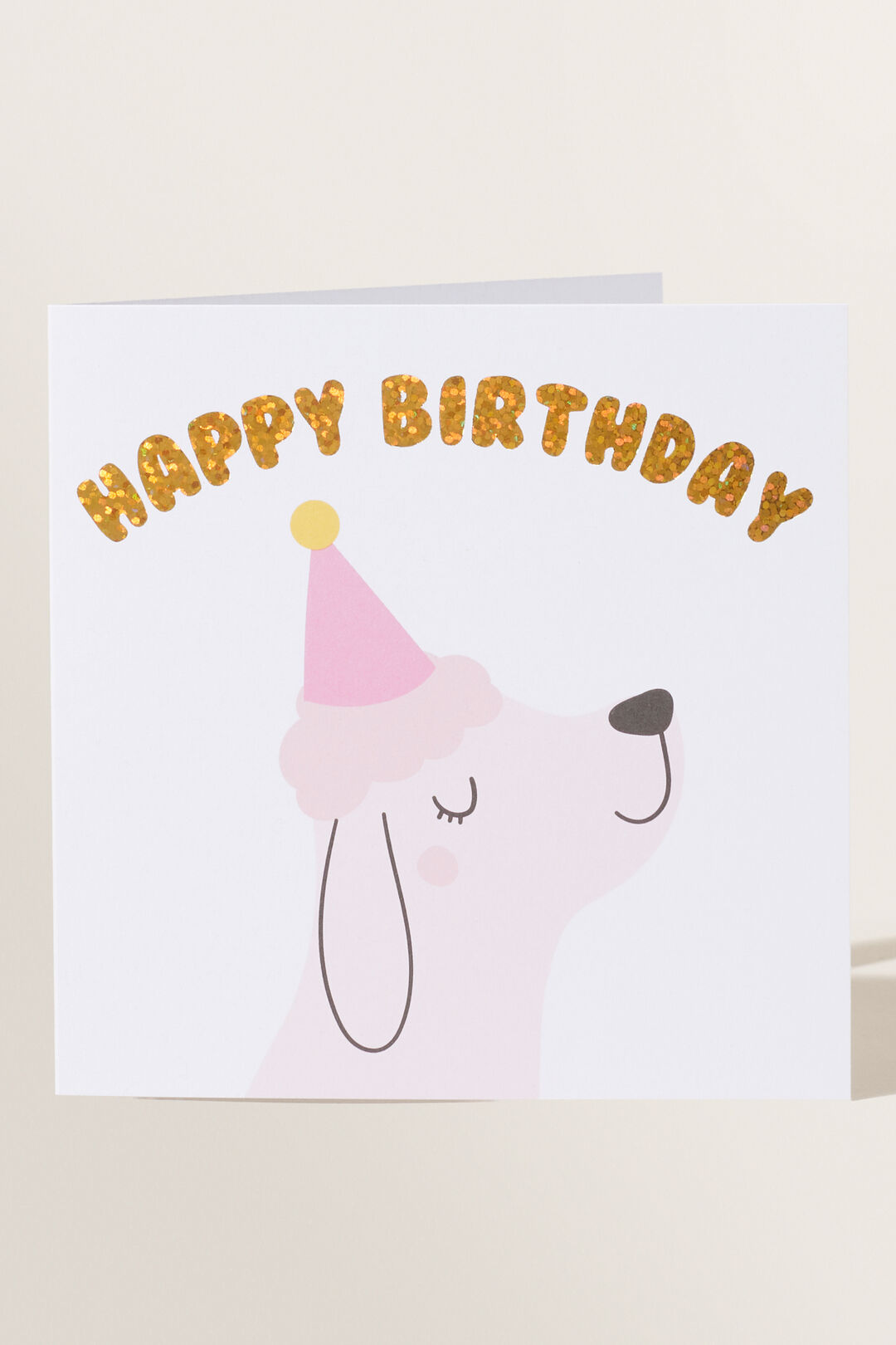 Large Dog Happy Birthday Card  MULTI  hi-res