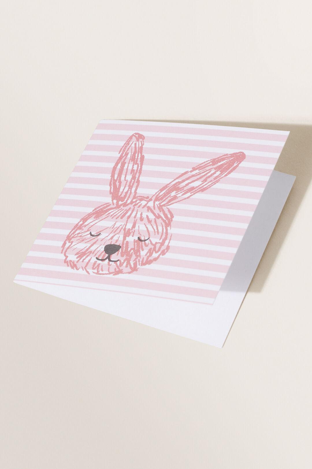 Small Bunny Card  MULTI  hi-res