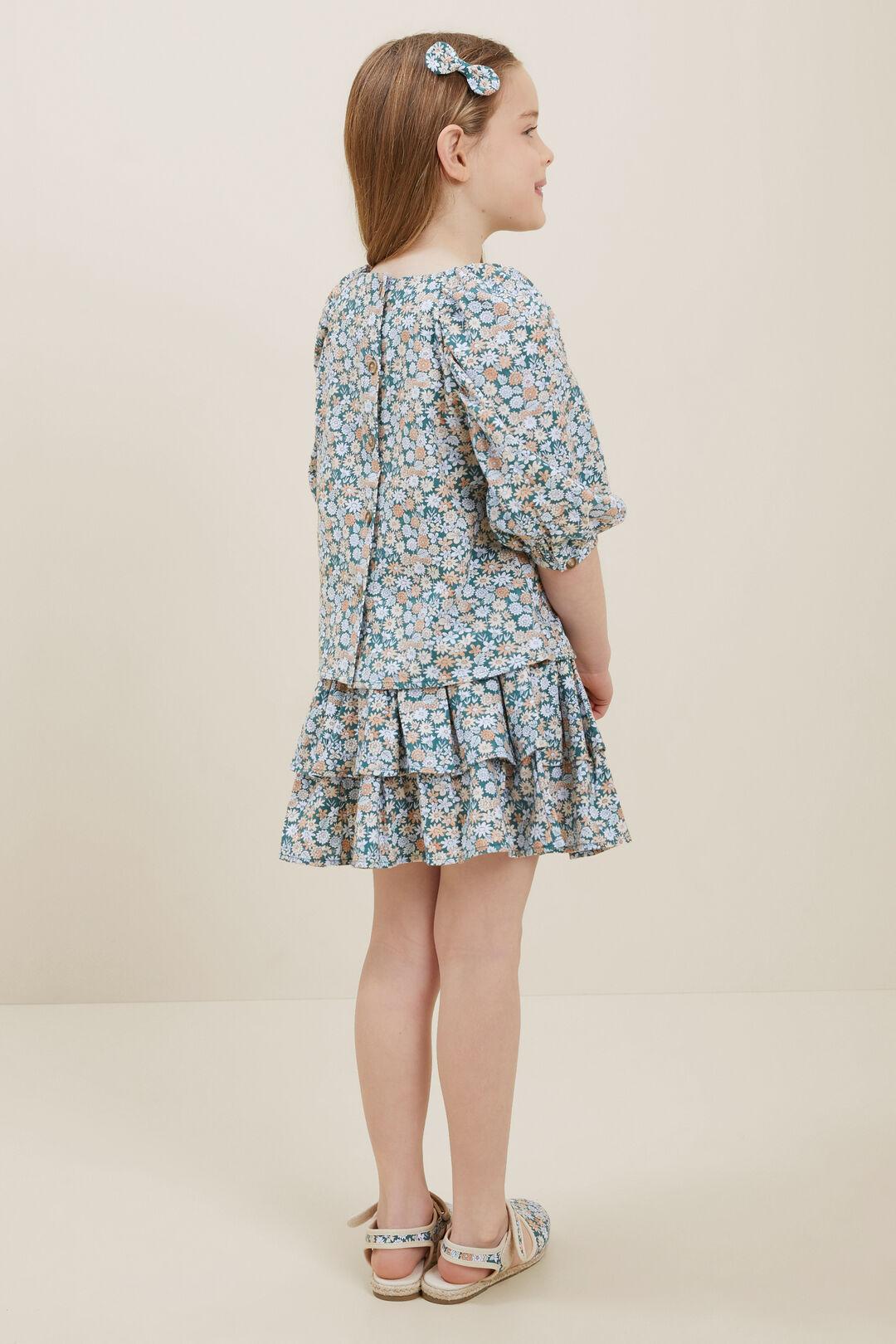 Mini Floral Skirt  MULTI  hi-res