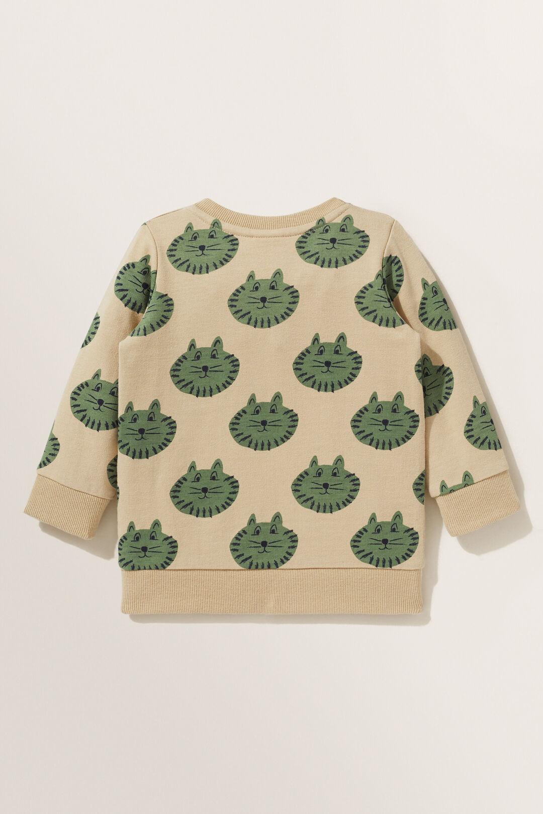 Tiger Sweater  SAND  hi-res