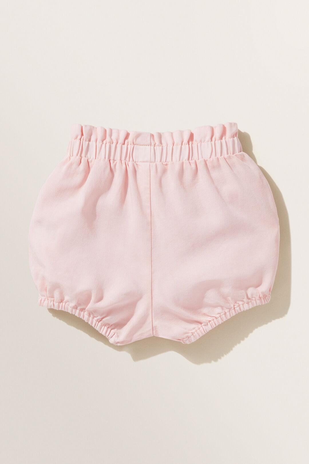 Chambray Shorts  DUSTY ROSE  hi-res