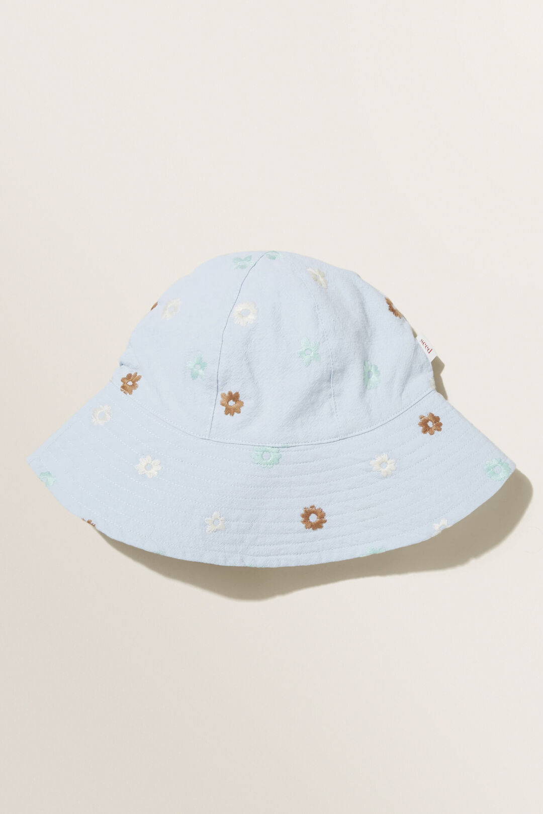 Floral Bucket Hat  BABY BLUE  hi-res