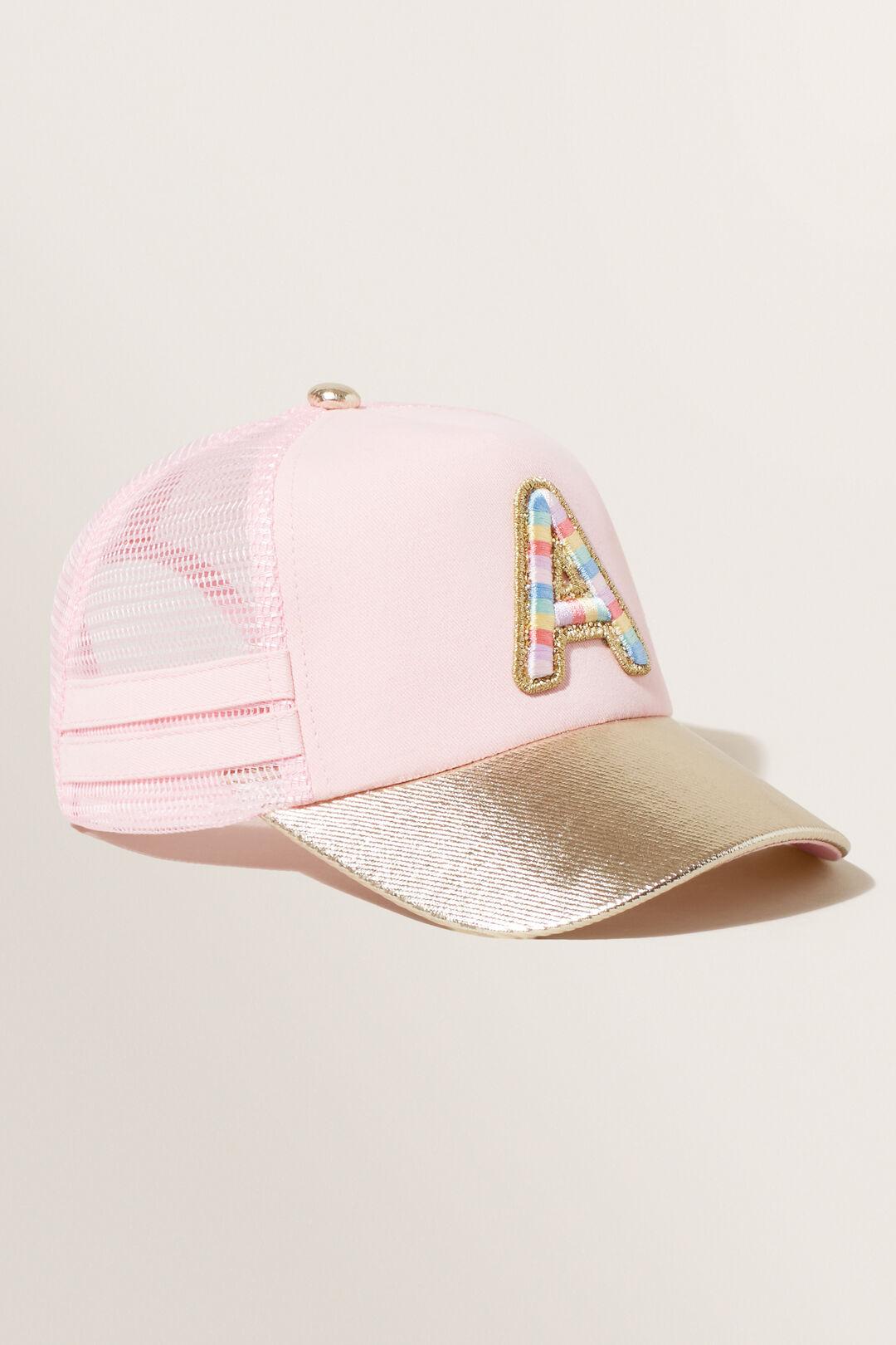 Rainbow Initial Cap  A  hi-res