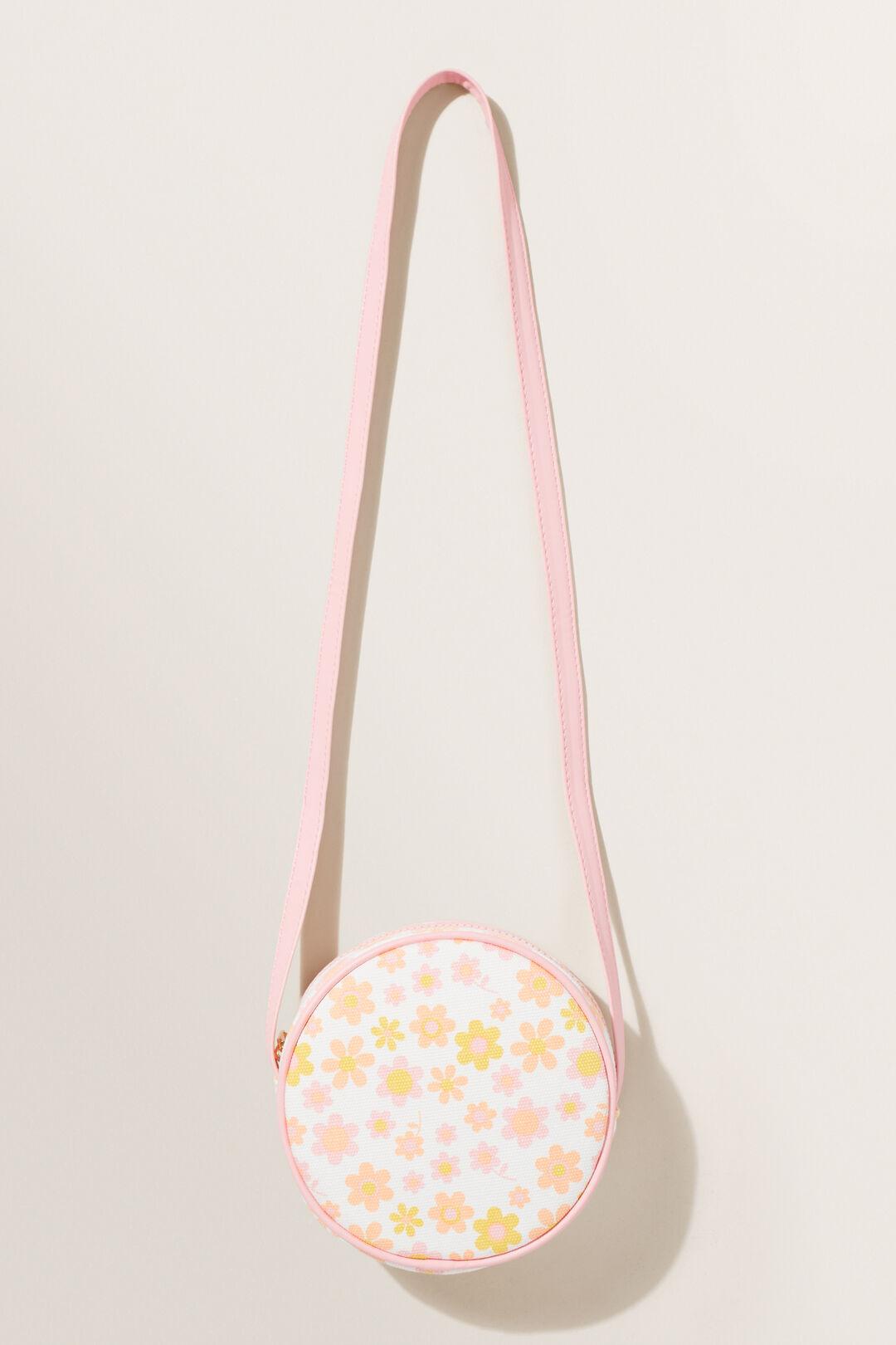 Retro Flower Circle Bag  MULTI  hi-res