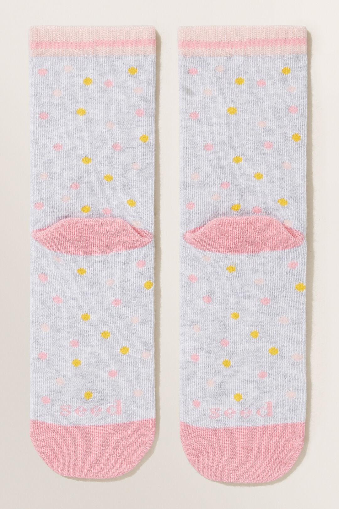 Strawberry Socks  GREY MARLE  hi-res