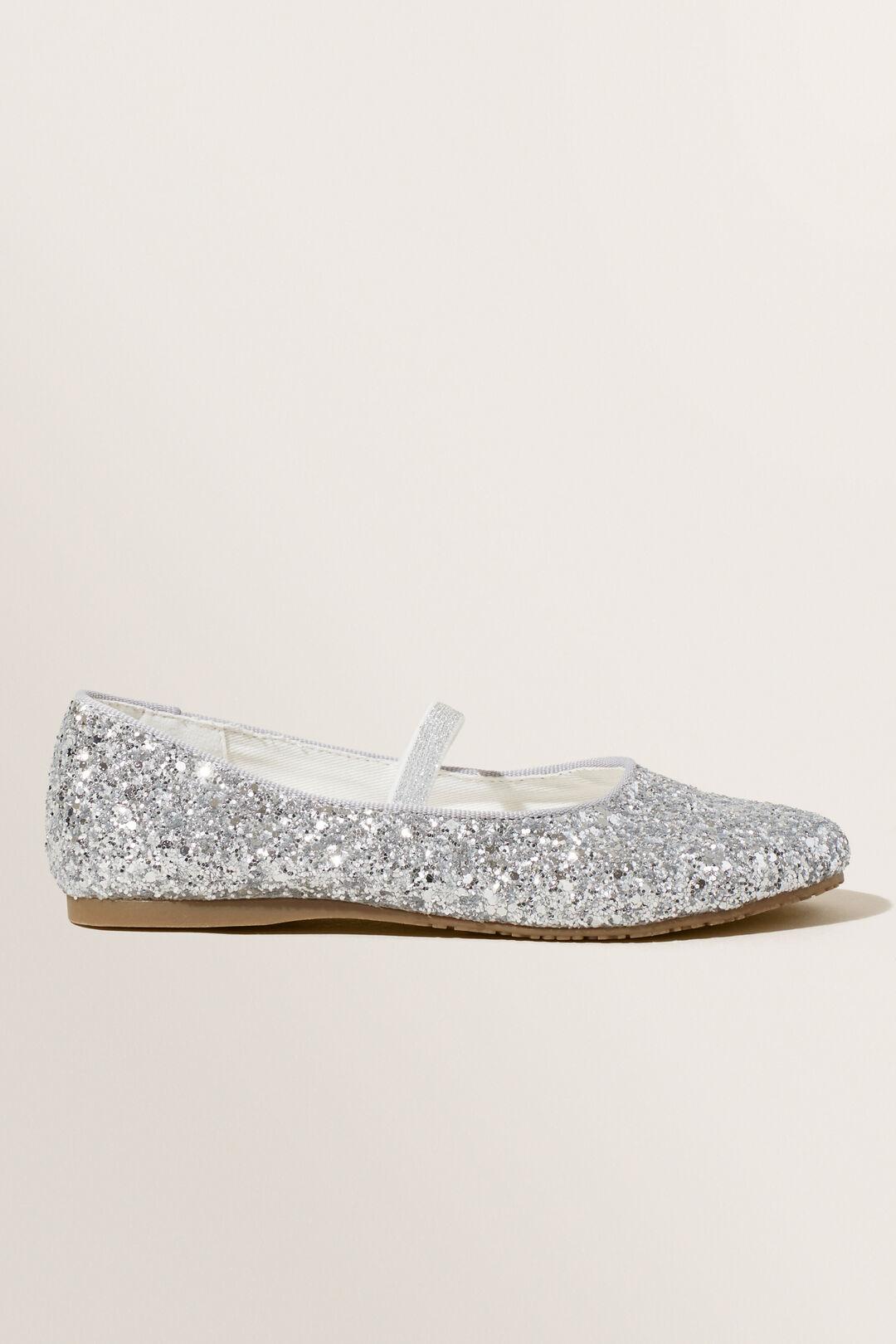 Jewel Ballet Flat  SILVER  hi-res