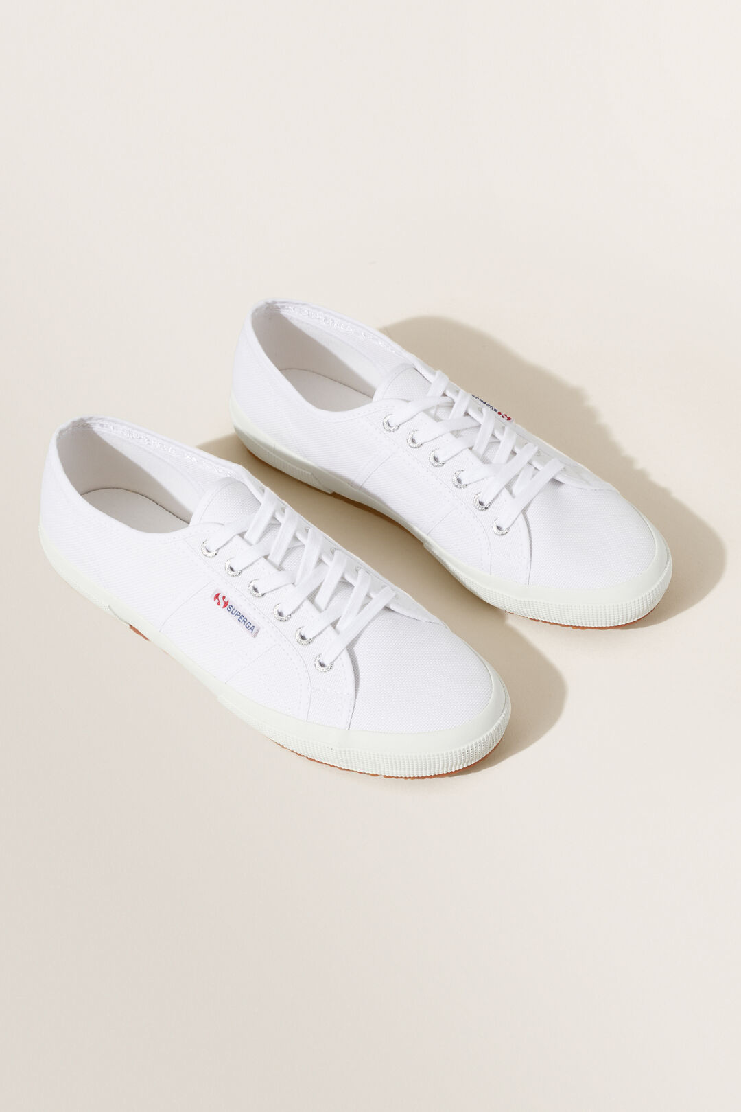 Mens Superga Classic Sneaker  WHITE  hi-res