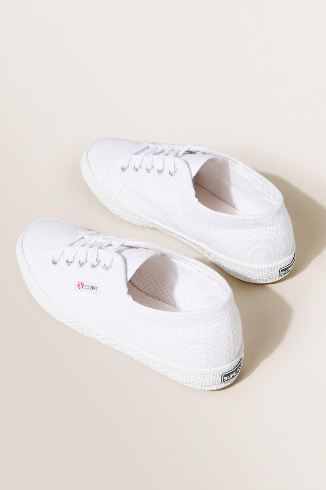 Superga Classic Laceup Sneaker  WHITE  hi-res