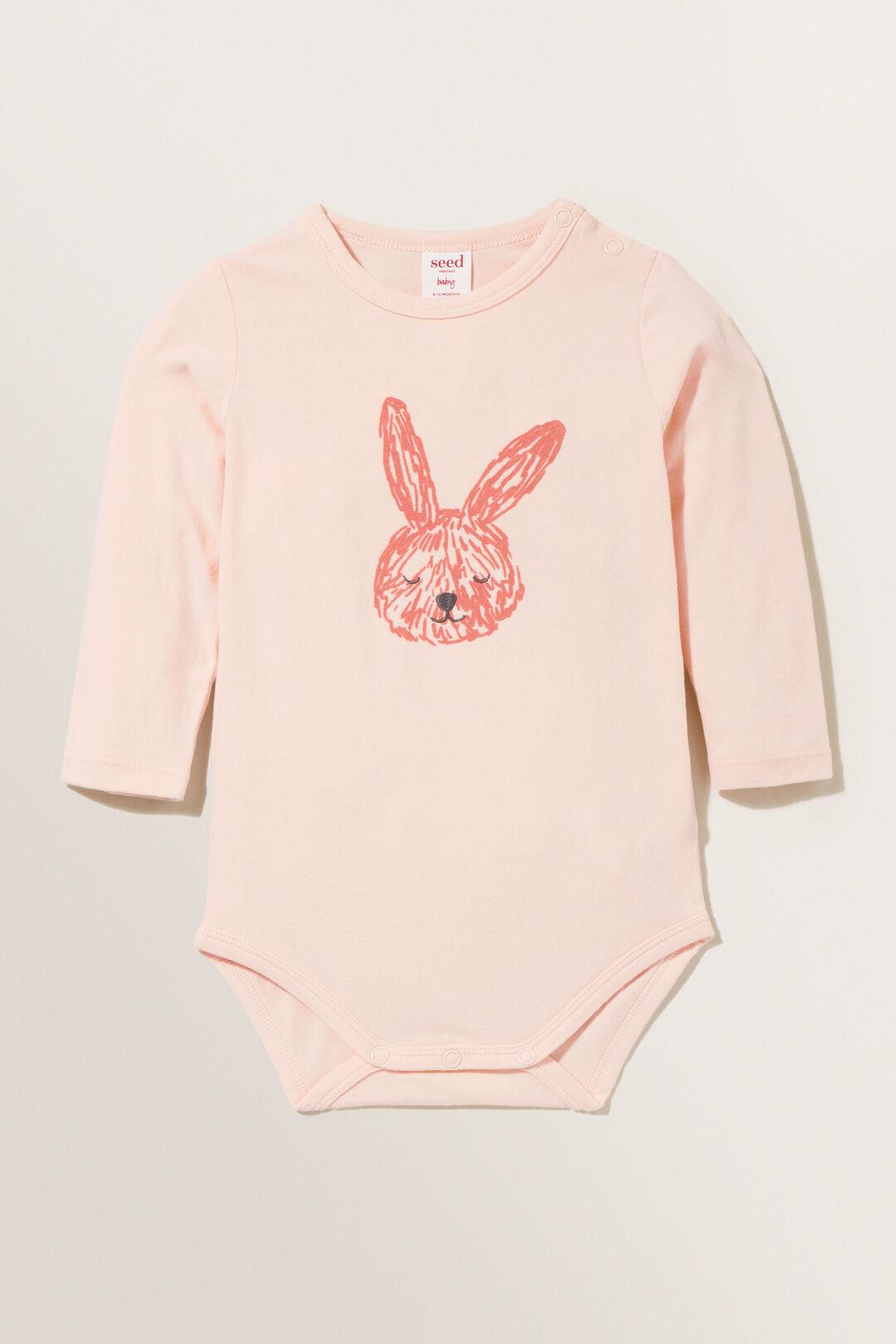 Bunny Bodysuit  ROSEWATER  hi-res