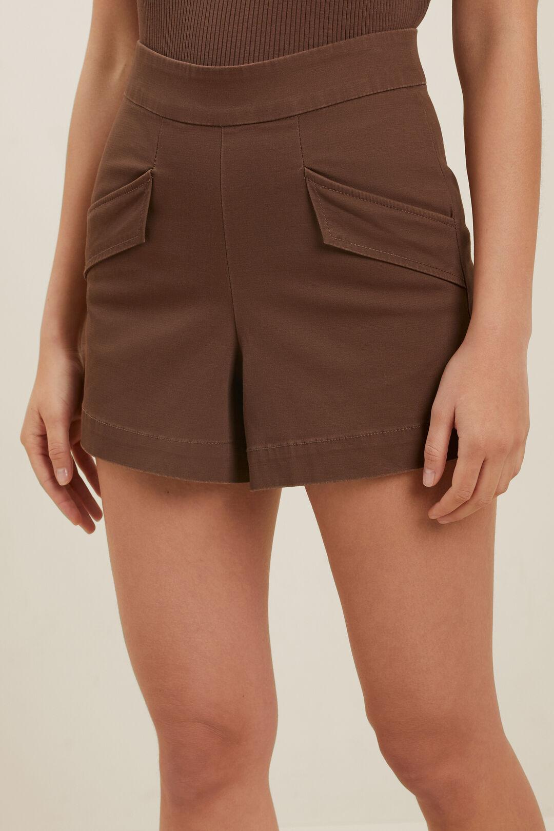Tailored Pocket Short  RUSSET BROWN  hi-res