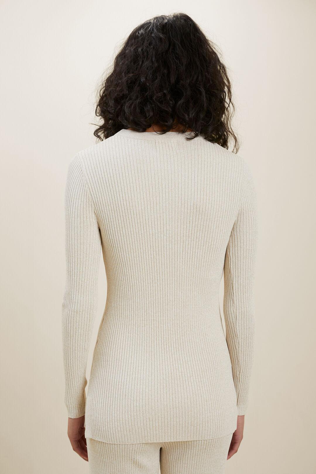 Marle Knit Sweater  LATTE MARLE  hi-res