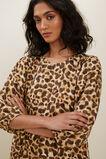Leopard Tiered Dress  LEOPARD  hi-res