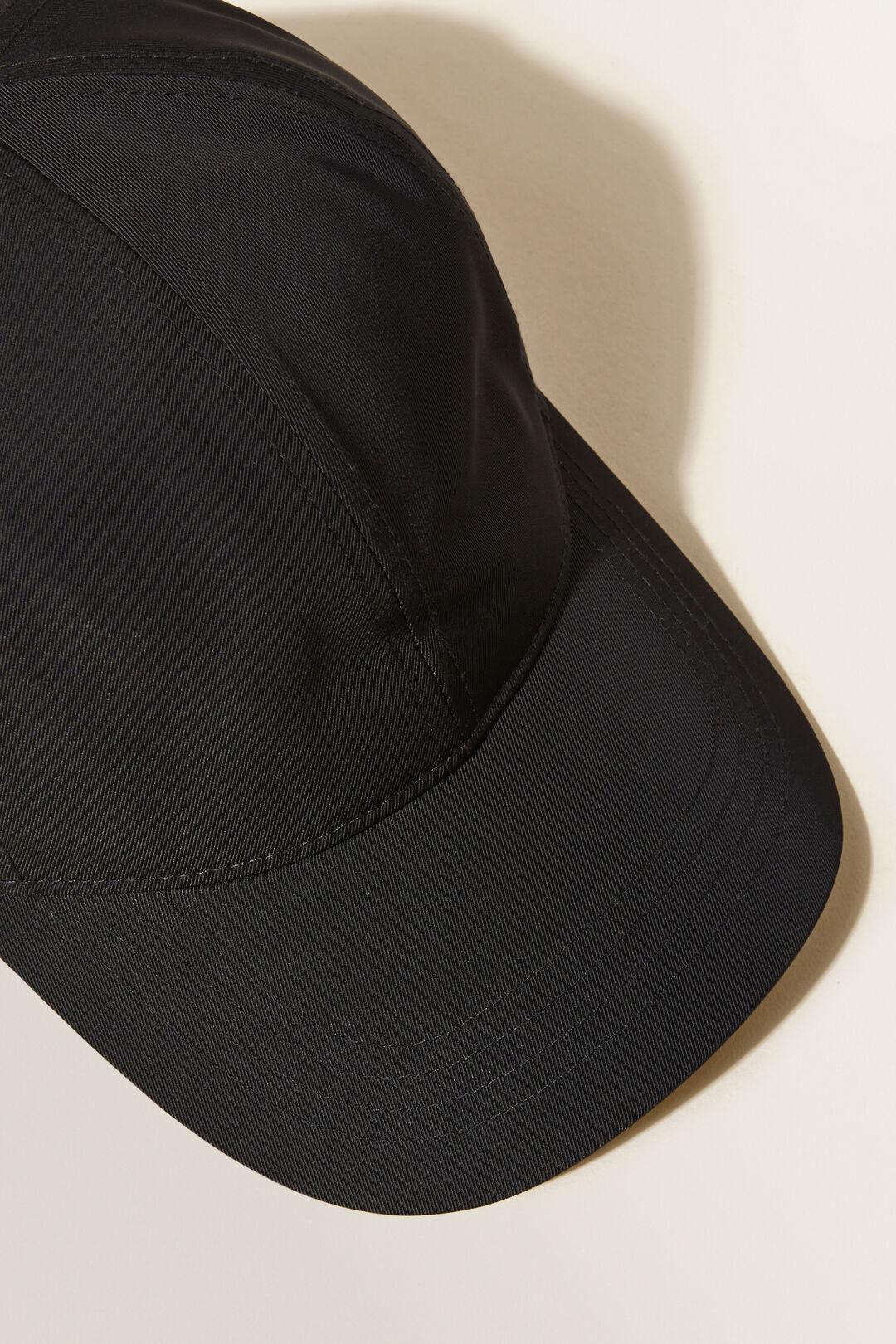 Logo Cap  BLACK  hi-res