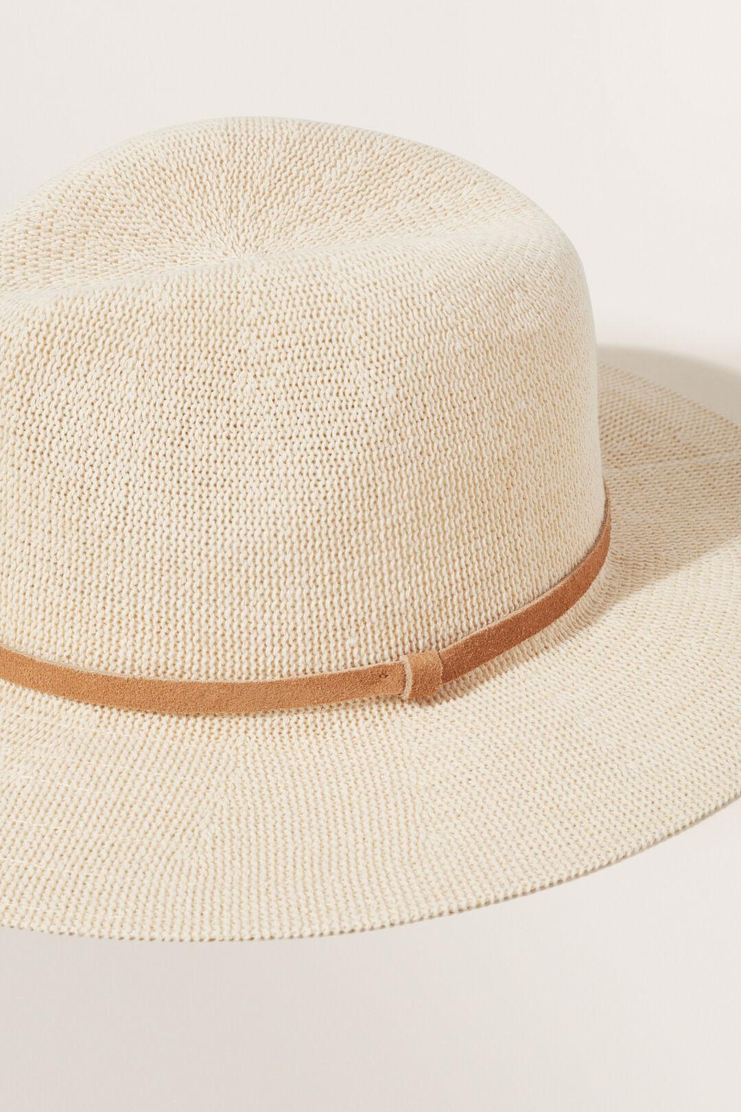 Lightweight Panama Hat  NATURAL/ TAN  hi-res