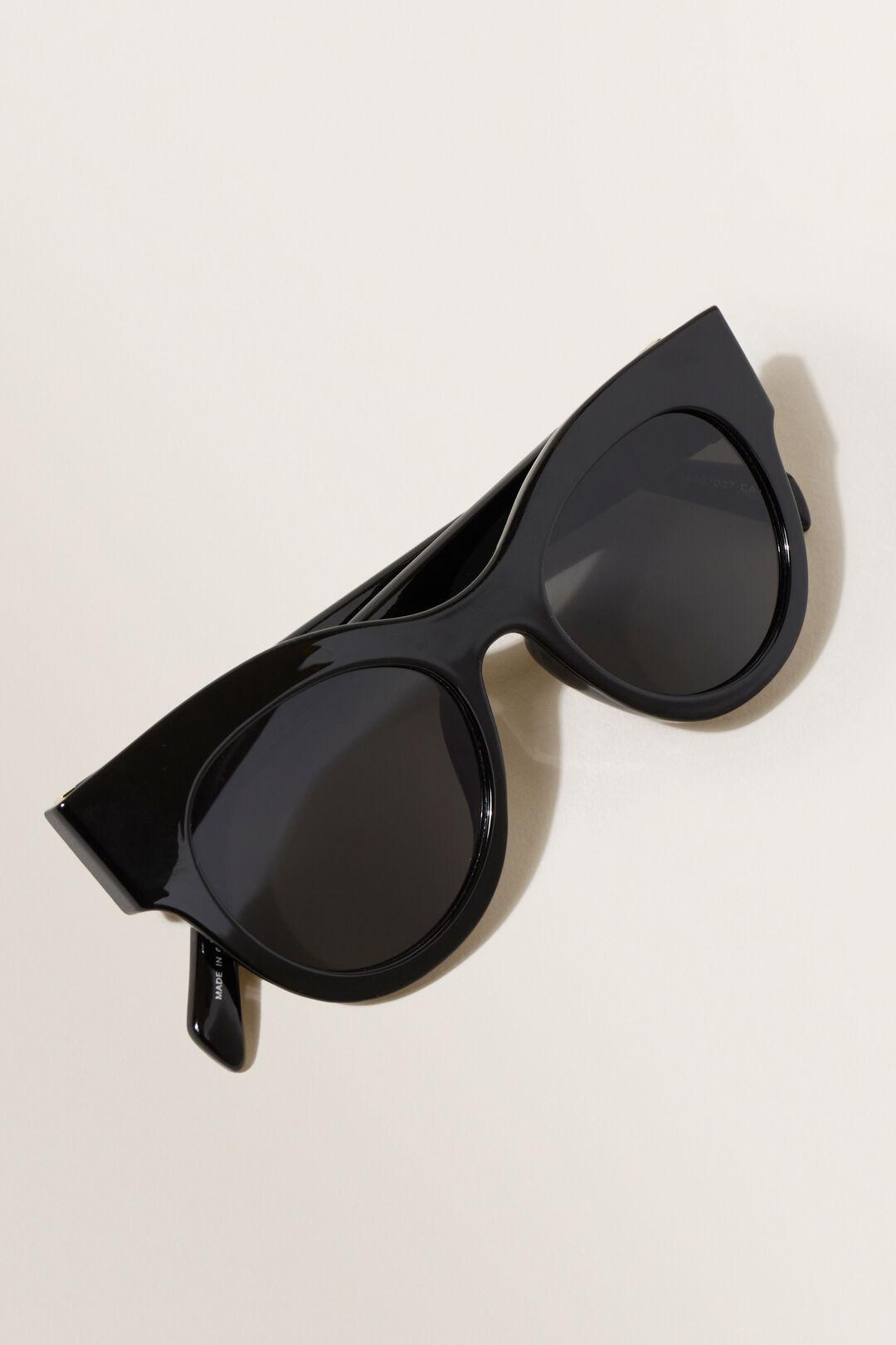 Maria Cat Eye Sunglasses  BLACK  hi-res
