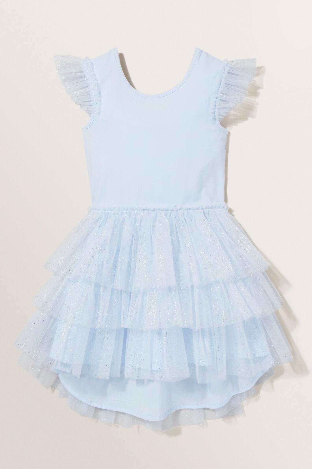 Splice Glitter Tutu Dress  BABY BLUE  hi-res