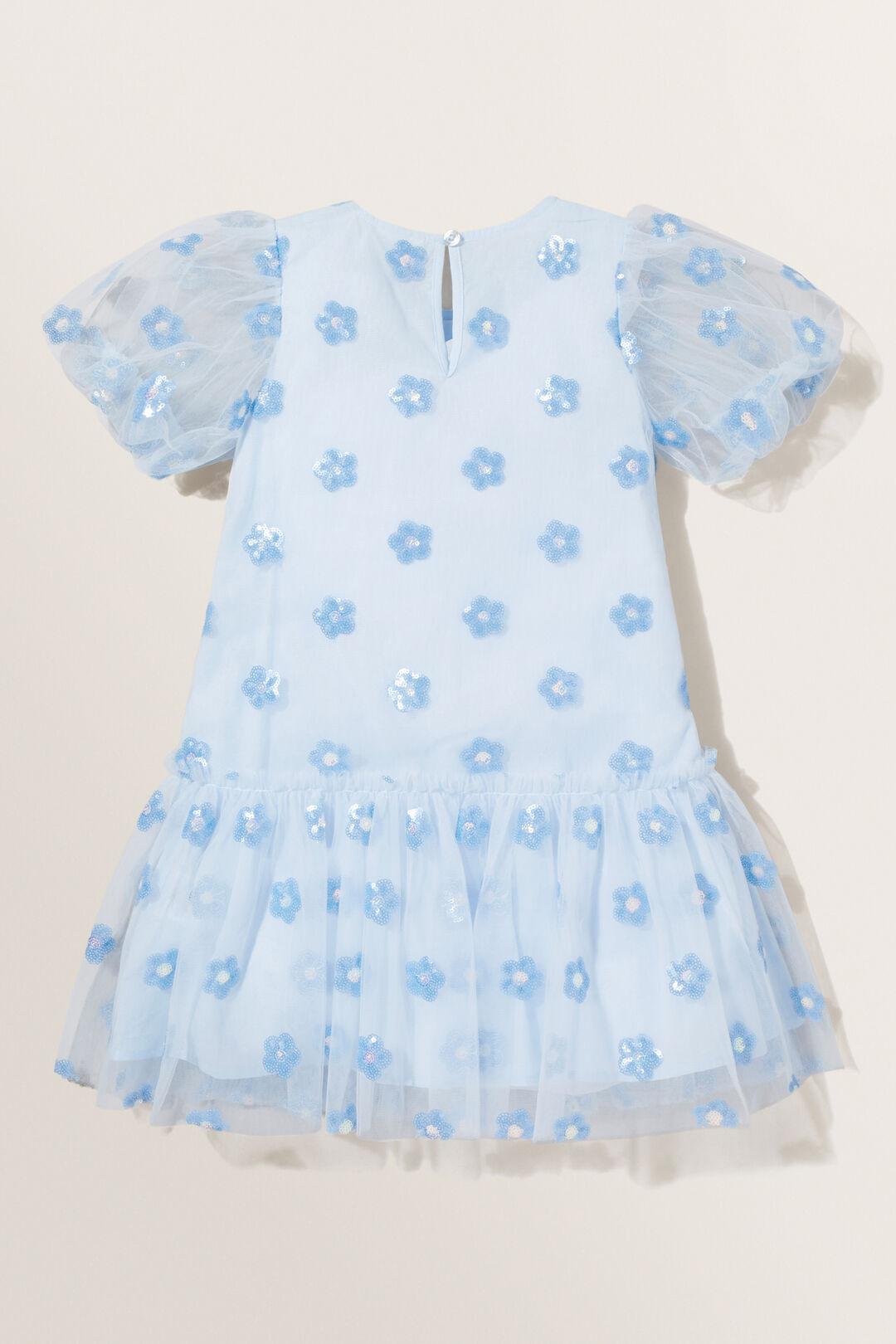 Daisy Sequin Dress  BABY BLUE  hi-res