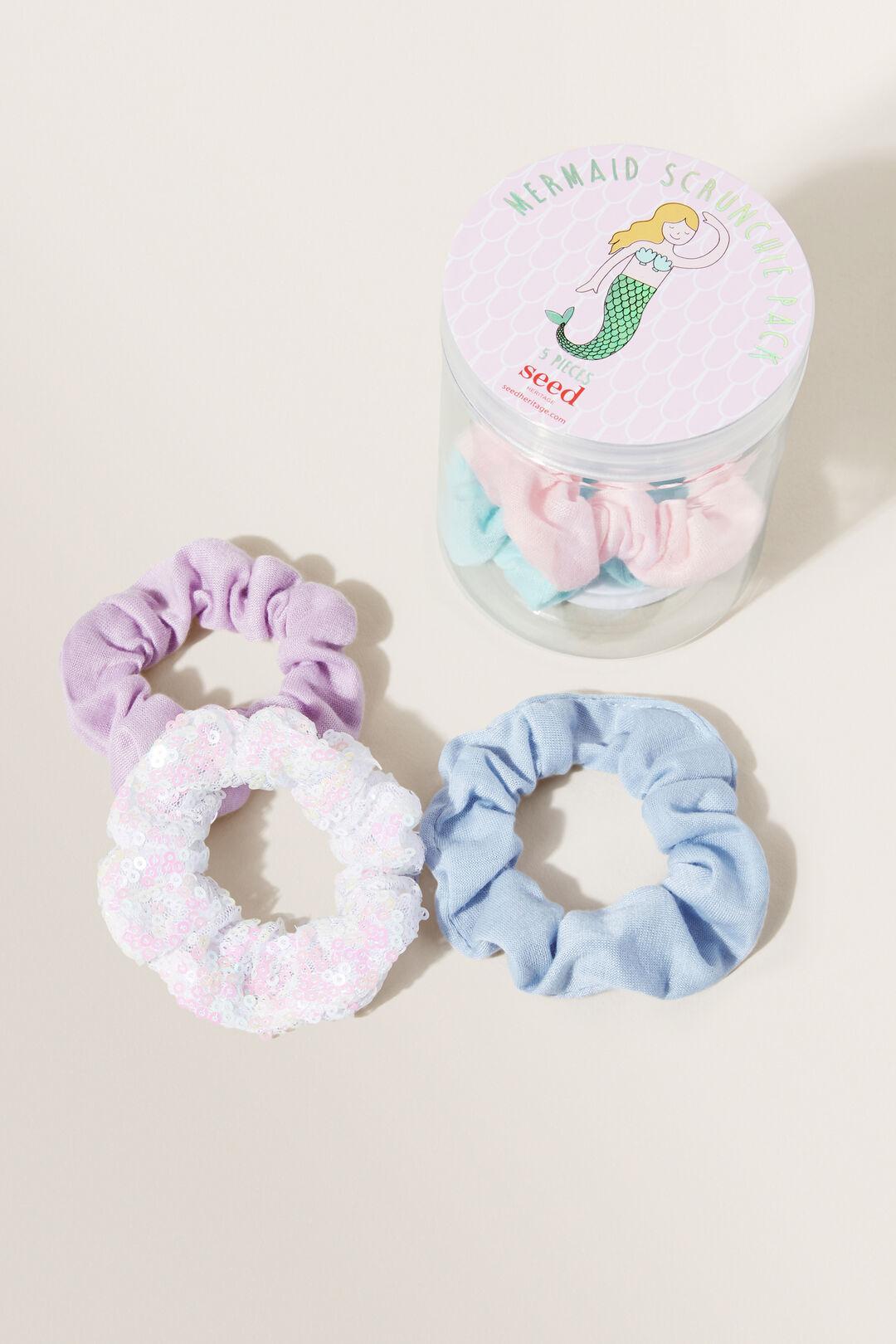 Mermaid Scrunchie Pack  Multi  hi-res