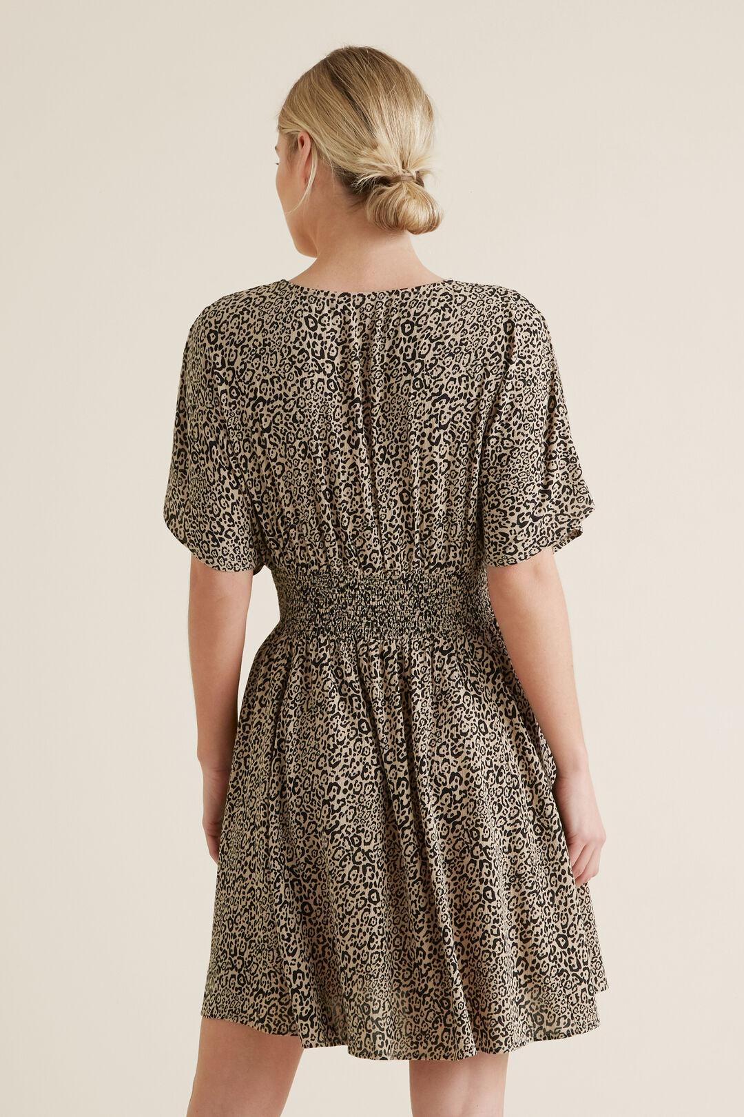 Animal Print Swing Dress    hi-res