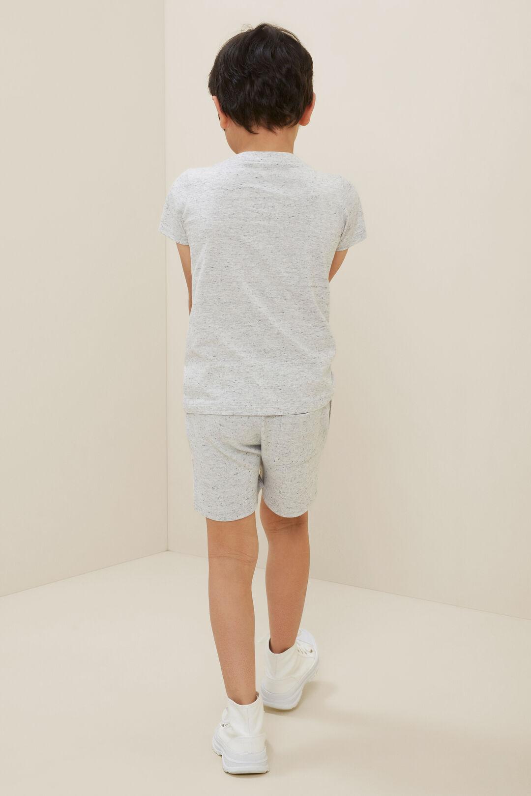 Essential Short Sleeve Tee  Cloudy Marle  hi-res