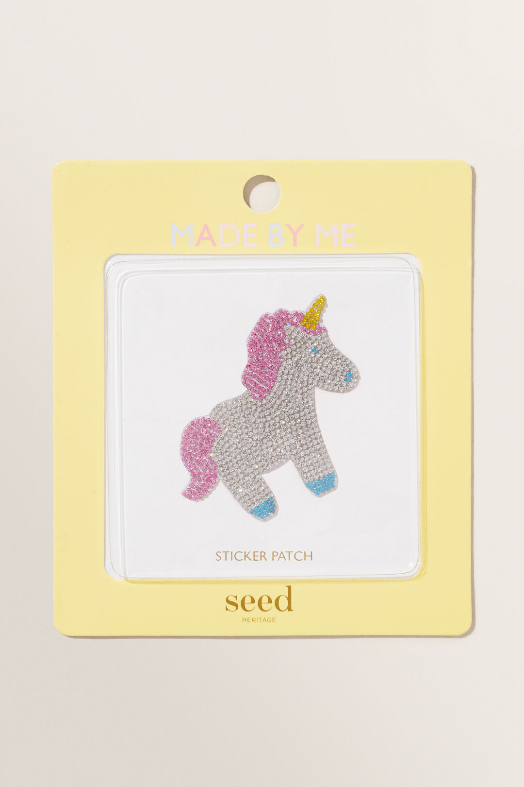 Made By Me Motif Patch  Jewel Unicorn  hi-res